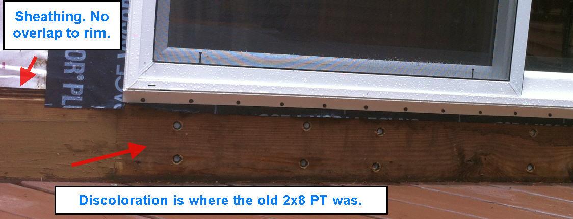 ... Azek Brickmold On Patio Door Replacement Rim Detail 2