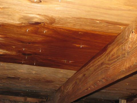 Water Leaks Into Attic And Under Soffit Roofing