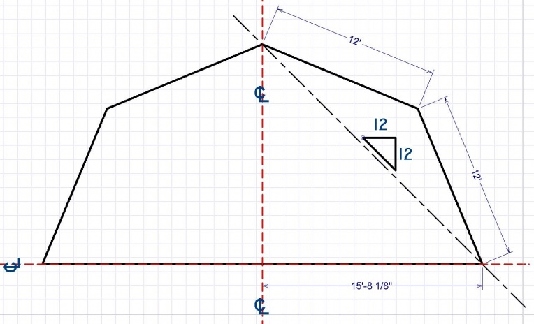barn roof calculator gambrel rafters and gambrel roof