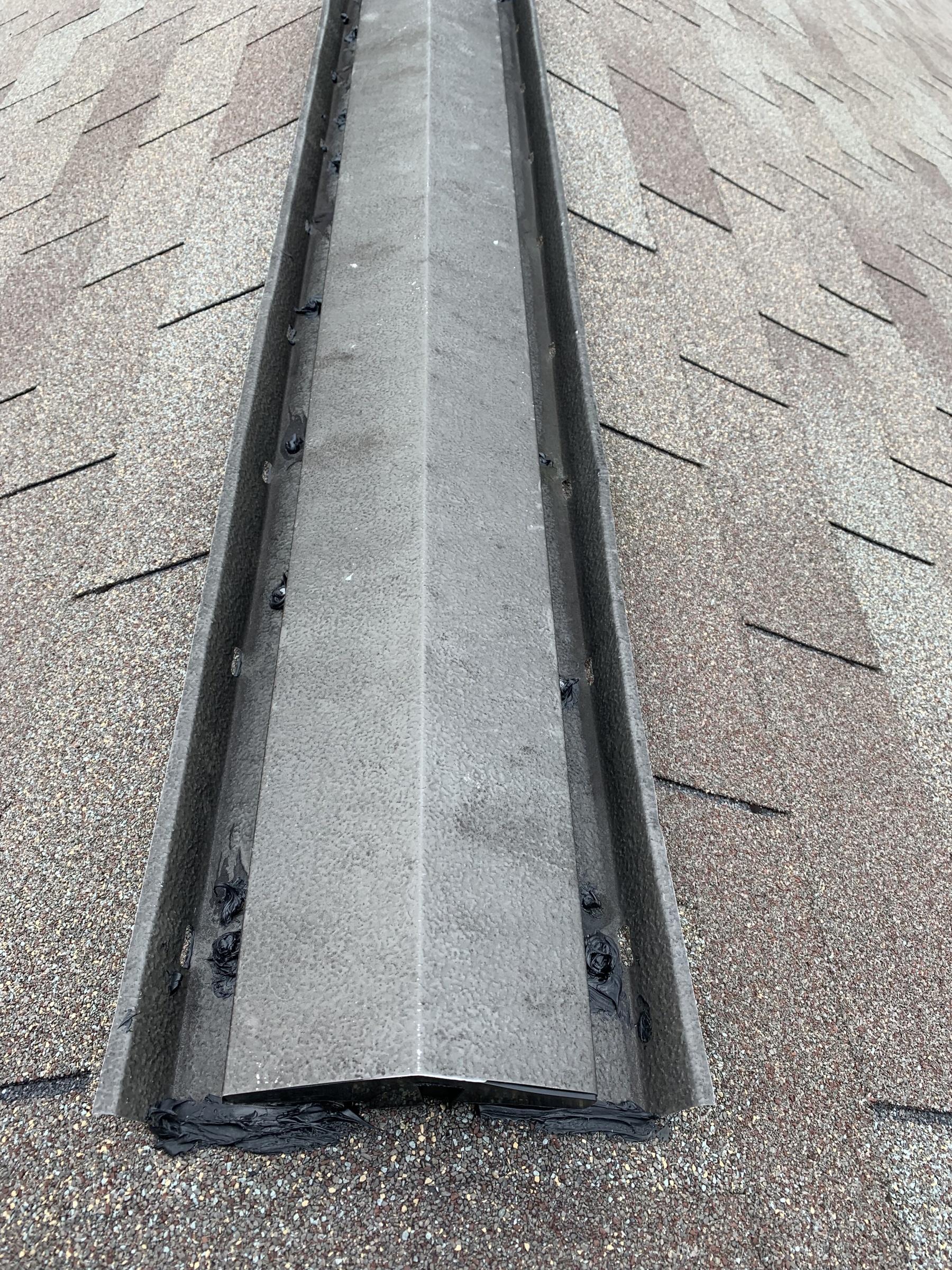 Ridge Vent Leak Roofing Siding Diy Home Improvement