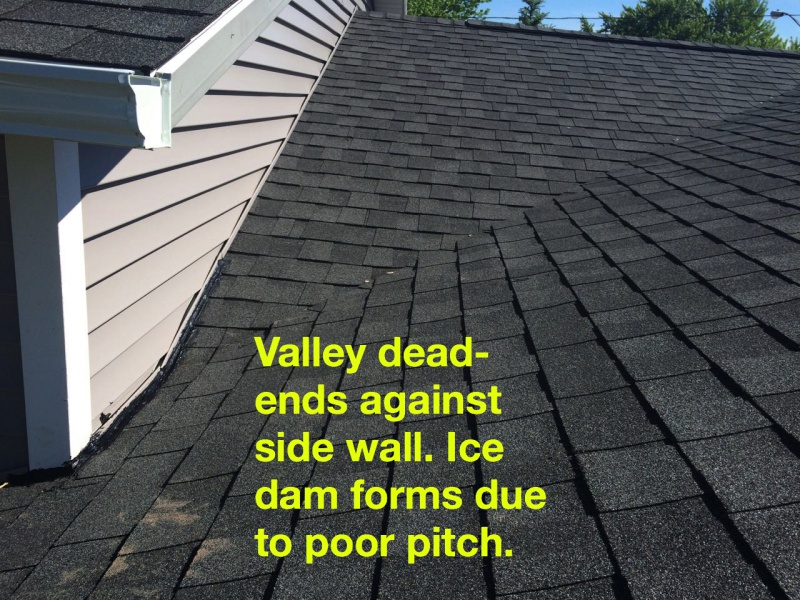 ... Opinions Needed, Roof Repair Roof Valley Incorrect1