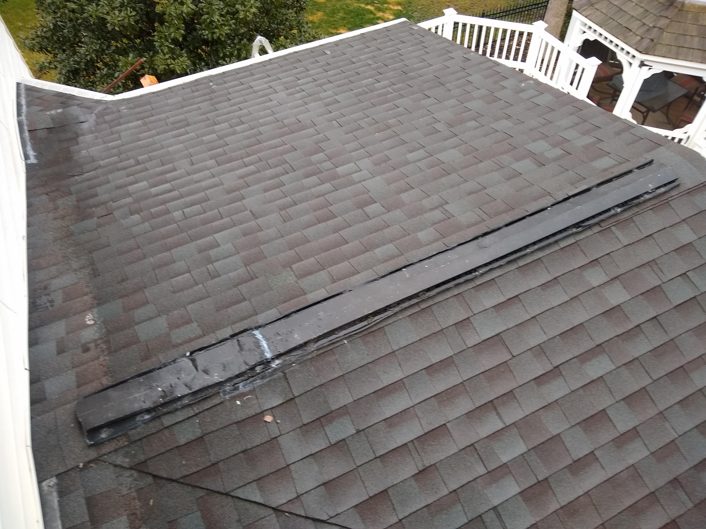 Leaking Sunroom Roof Pics Attached Roofing Siding