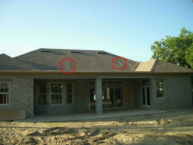 Uneven Sheathing On New Construction Roof Roofing Siding