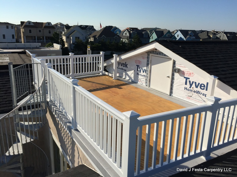 Install Hatch Door For Access To Roof? Rooftop Fiberglass Deck Access ...