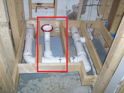 Lighting Basement Washroom Stairs: Basement Bathroom Plumbing Layout
