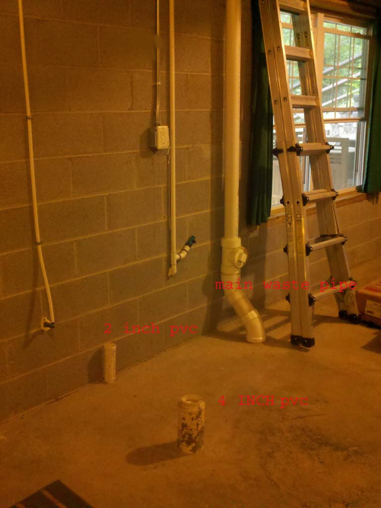 Venting Basement Bathroom Plumbing Diy Home