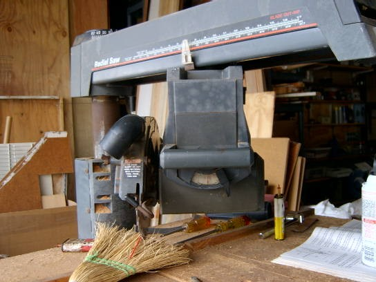 "also. It is a Sears Craftsman 10"" Radial Saw Model No 113.198111"