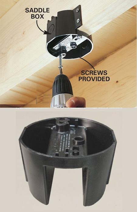 Ceiling Fan - Romex / Junction Box Look Over - Electrical - DIY ...