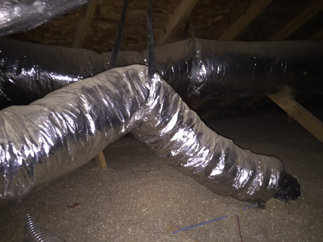 Sagging Ducts Anyone Hvac Diy Chatroom Home