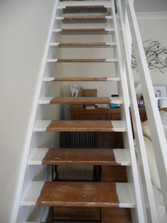 how do you enclose open plan stairs general diy On boxing in open stairs