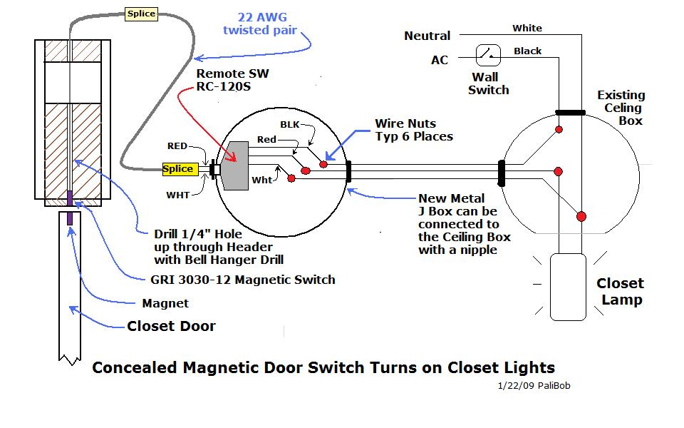 Automatic Closet Lights Electrical Page 3 DIY Chatroom Home