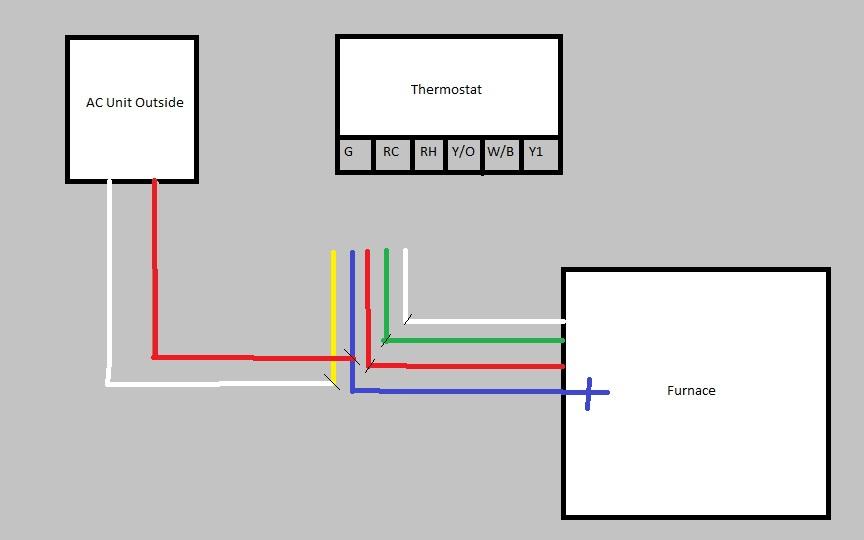 Problem Goodman Gmnt To Hunter 44155c, Tempstar Condenser Wiring Diagram