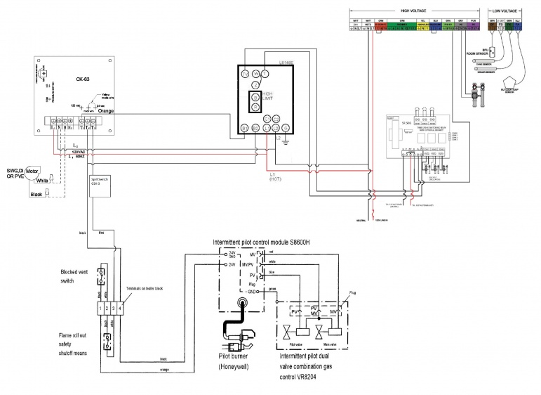 gas boiler wiring gas image wiring diagram review of proposed wiring diagram for a new install hvac diy on gas boiler wiring