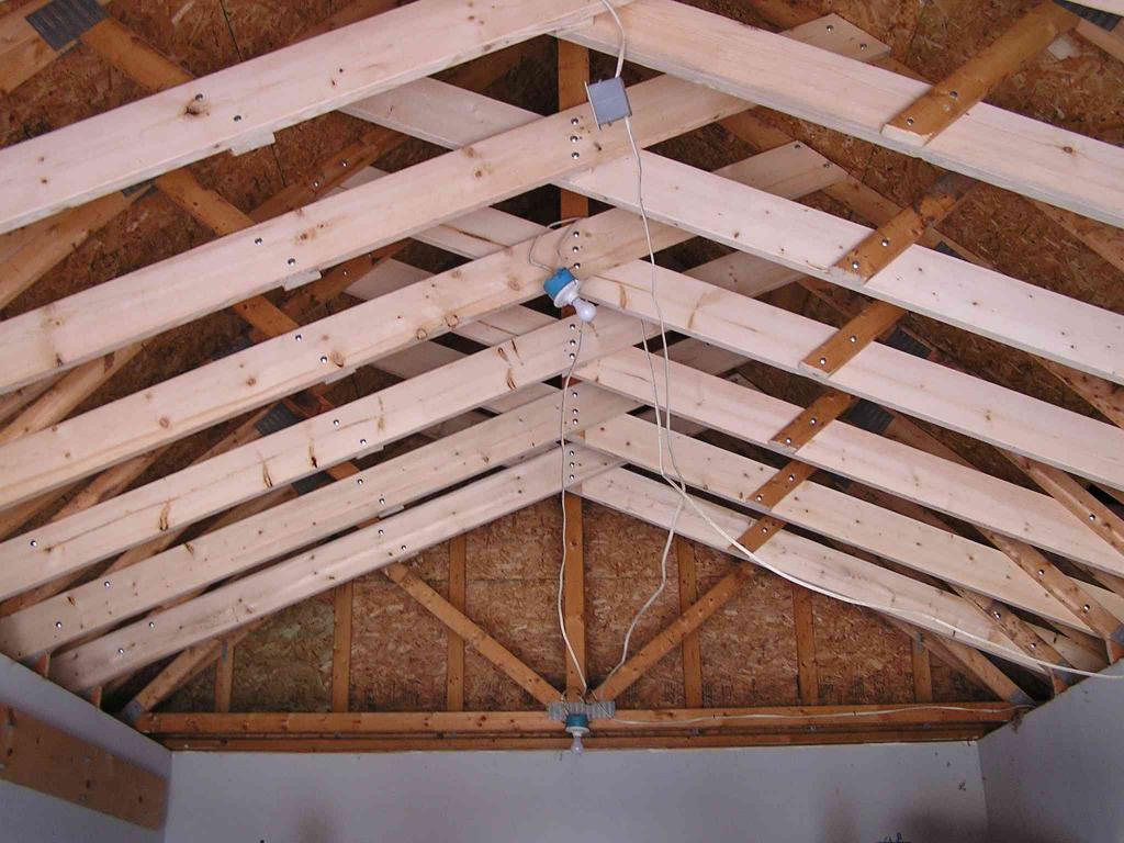 Garage Ceiling Joist Installation Challenges Building