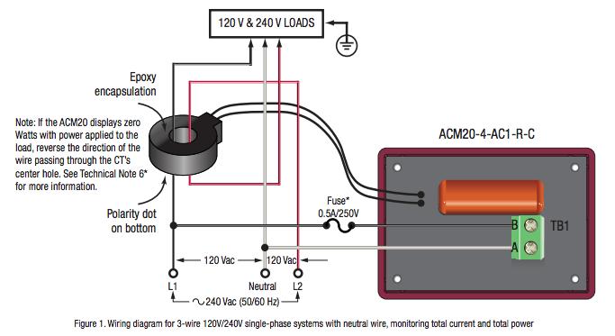 Wire Help: Digital Volt / Amp Meter AC 80-260V 100A ...