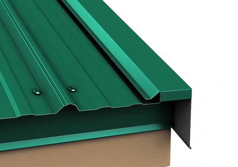 Metal Roof Rake Edge Installation Roofing Siding Diy