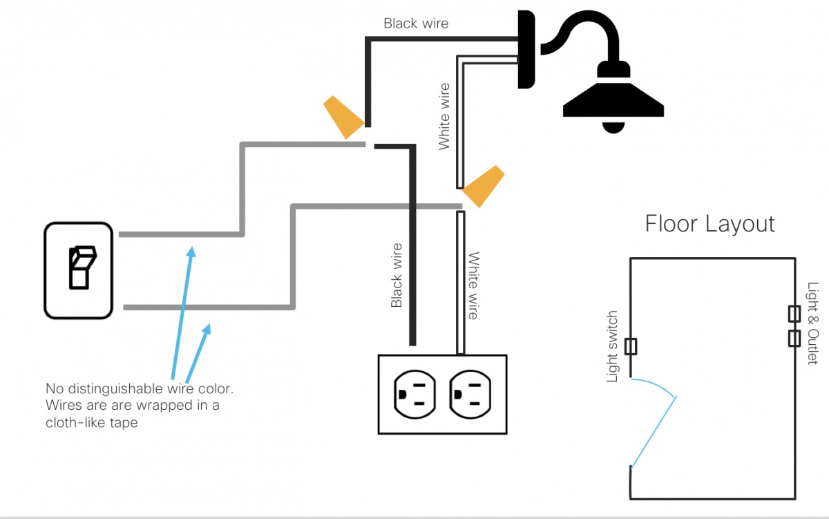 Separate Light Switch From Controlling Both Outlet And