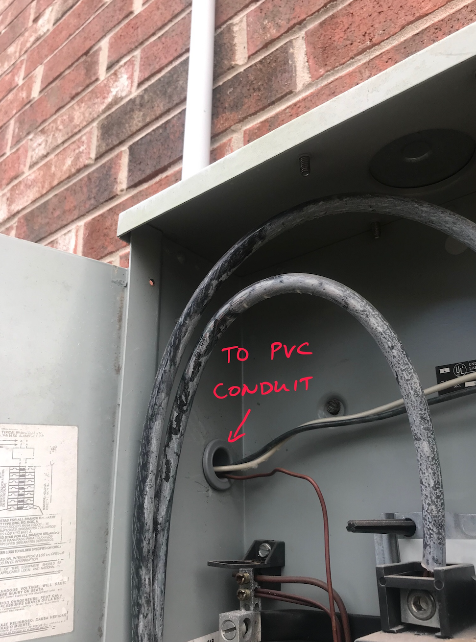 Wiring With Pvc Conduit