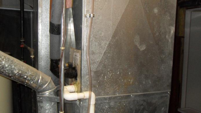 No access to HVAC Evaporator Coil-sdc18296.jpg