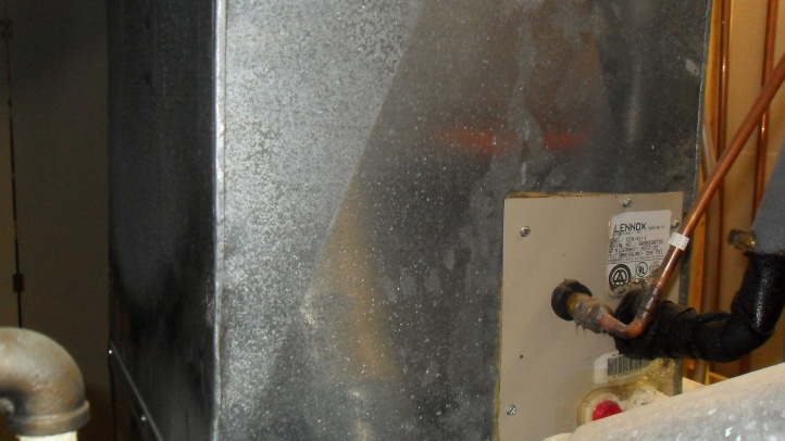 No access to HVAC Evaporator Coil-sdc18298.jpg