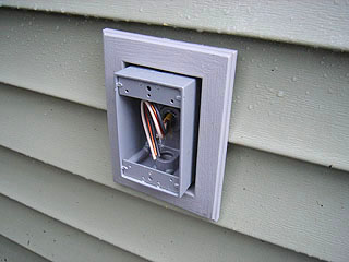 Need Advice For Outdoor Mounting Of Boxes Electrical Diy Chatroom