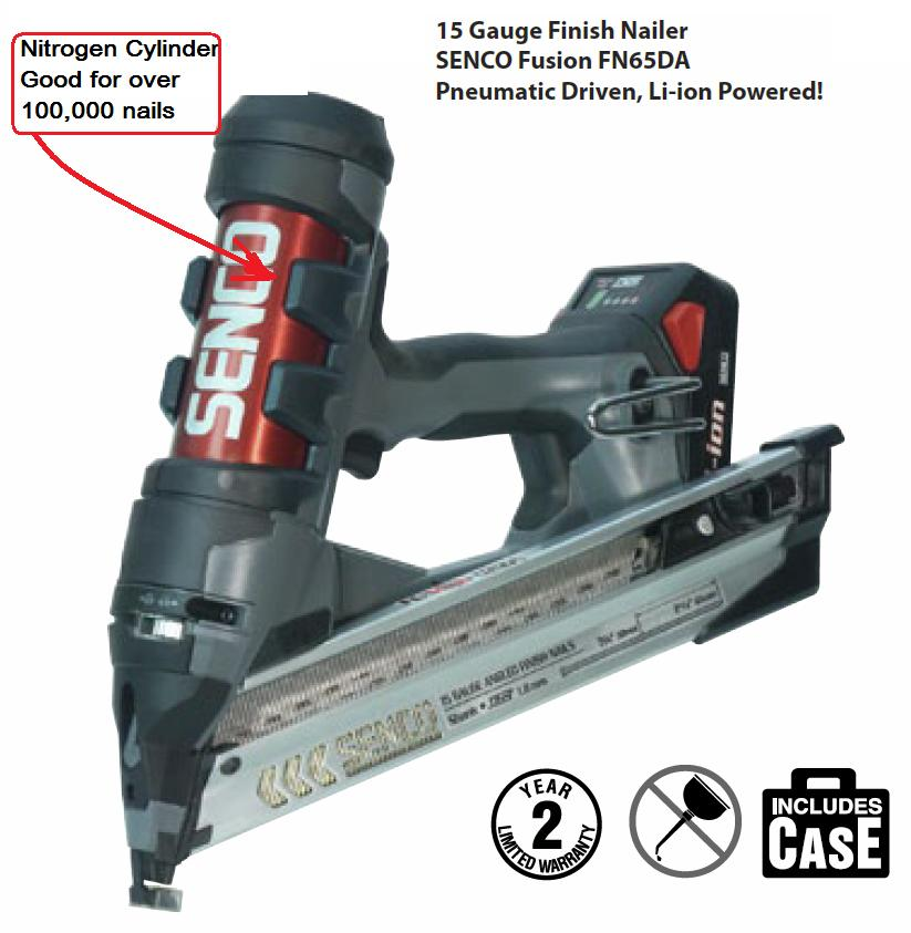Nail Gun Gas Fuel Cell