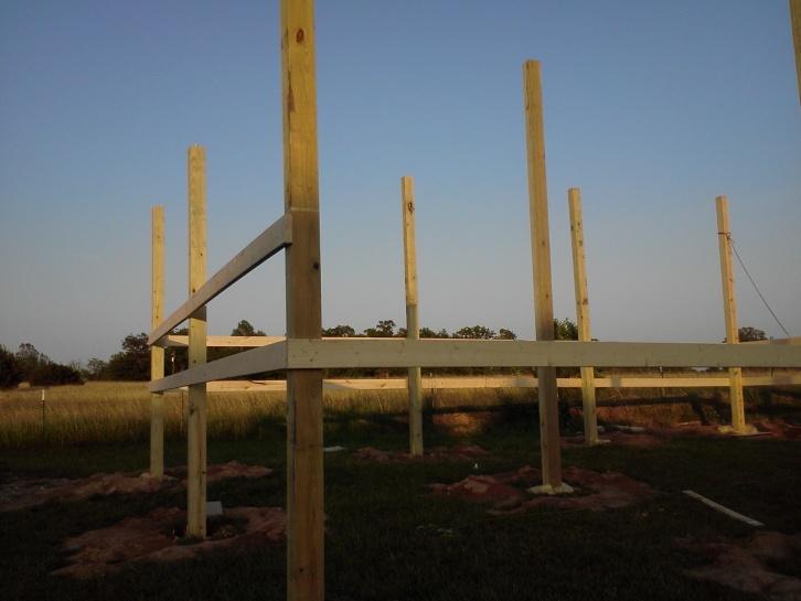 Alternative To Concrete For Pole Barn Construction