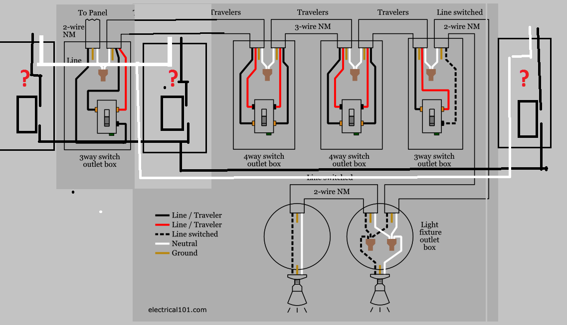 Diagram Ts A 4 Way Light Circuit Electrical Page 4