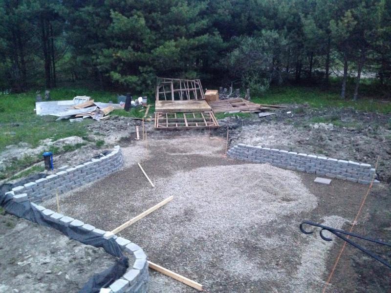 Landscape/Hardscape Project For WET Backyard - Landscaping ... on Landscaping Ideas For Wet Backyard id=45101