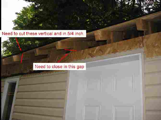 Help Need Help With Shed Soffit And Truss Carpentry