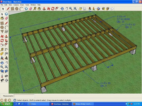 Foundation For 12 X 16 Shed Building Amp Construction