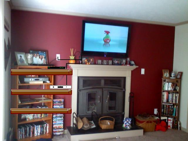 Fireplace Shelving Ideas Anyone Carpentry DIY Chatroom Home