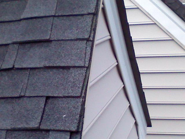 Starter Shingle Under The Rake Drip Edge Roofing Siding