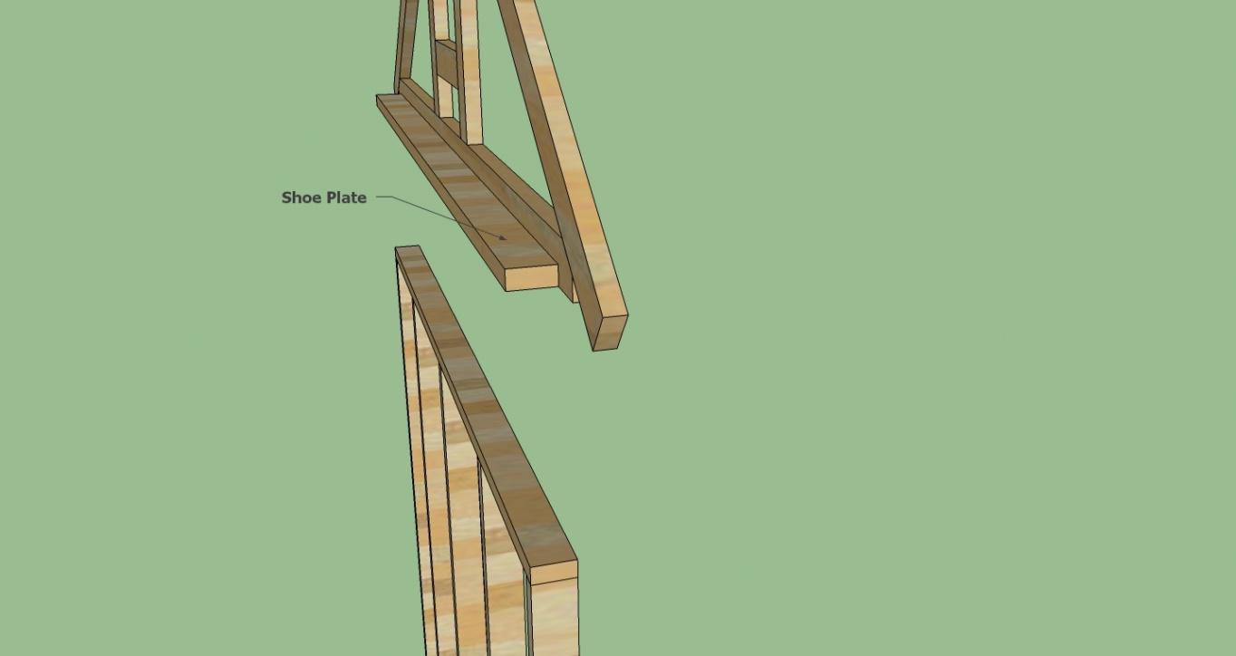 Gable End Truss Offset Siding Carpentry Diy Chatroom