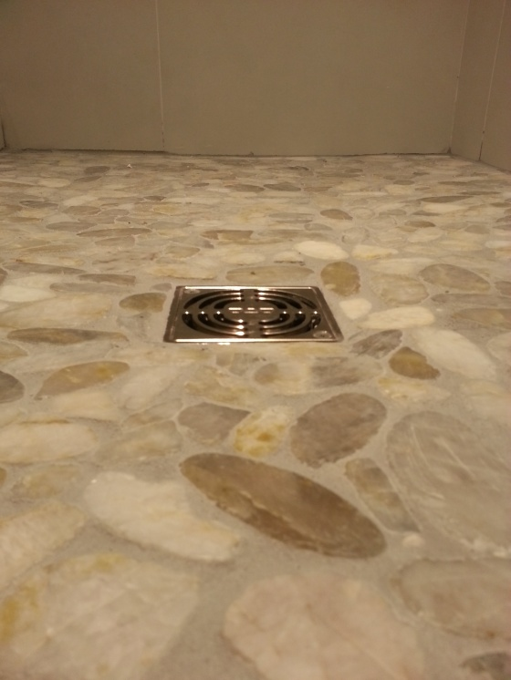 First Time Reno Attempt ...Venting-shower-drain-floor-closeup.jpg