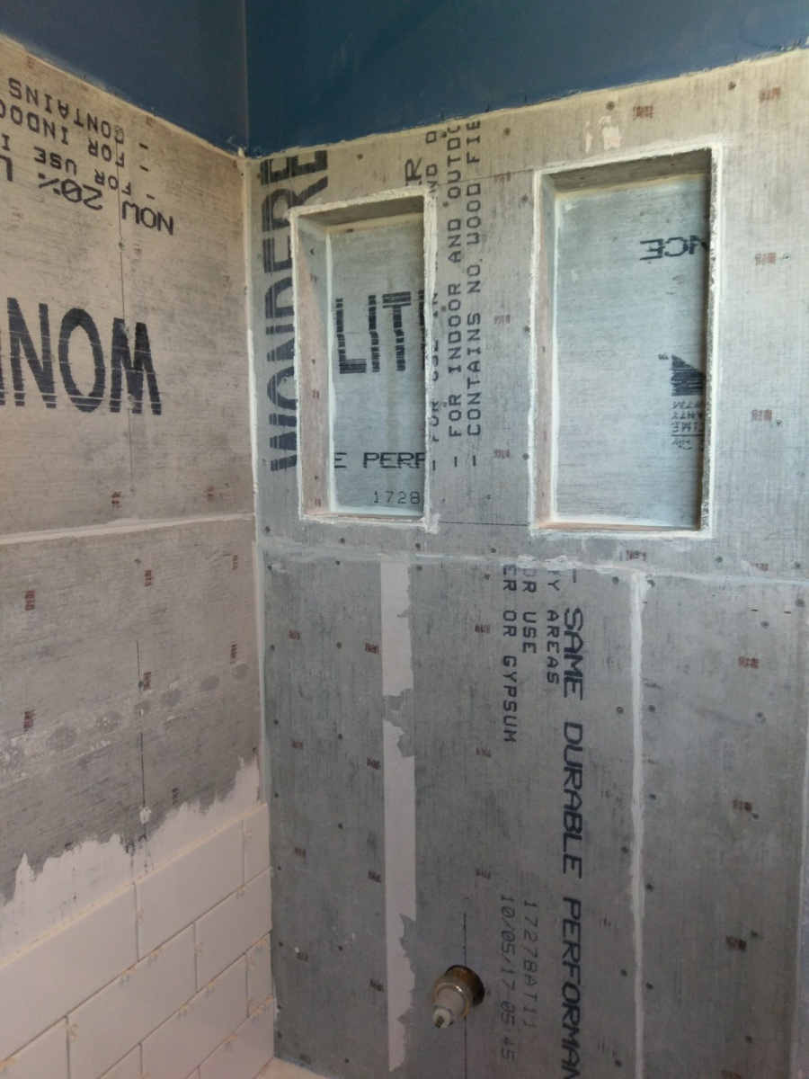 Tile Shower / No Waterproof - Did my husband do this right?-shower-install-1.jpg