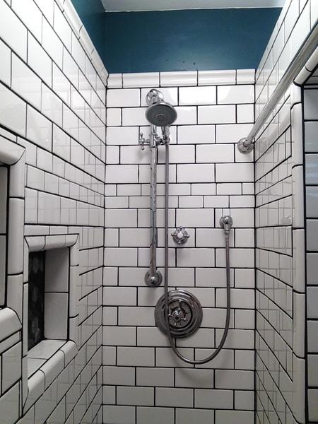Elegant Subway Tile   Spacers Shower