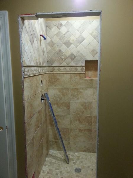 Door Frame Not Plumb Creating Wedge Gap On Trim - Tiling, ceramics ...