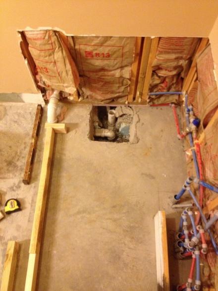 Replacing Garden Tub Tile Shower Slab Floor Need Help General Diy Discussions