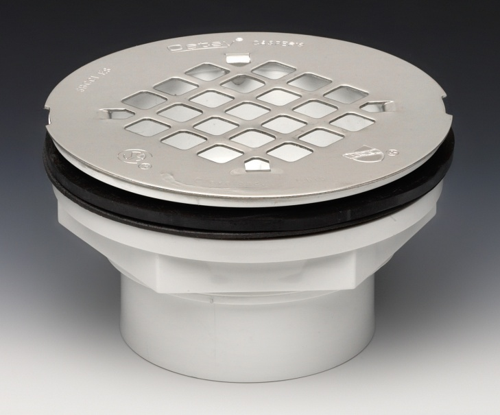 New shower drain installed, but gasket not sealing-shower_drain_42097.jpg