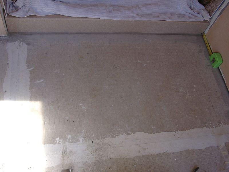 Nails not flush on Hardibacker.  Should I pound on?-shower_pan_backer_junction.jpg