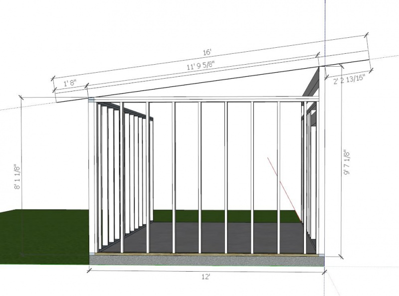 Shed Framing - Building & Construction - DIY Chatroom Home ...