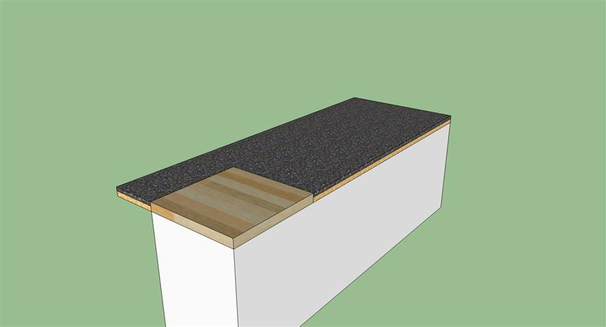 cutting board counter top seal  general diy discussions  diy, Kitchen design