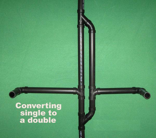 Plumbing Double Vanity Drain - Plumbing - DIY Home Improvement ...