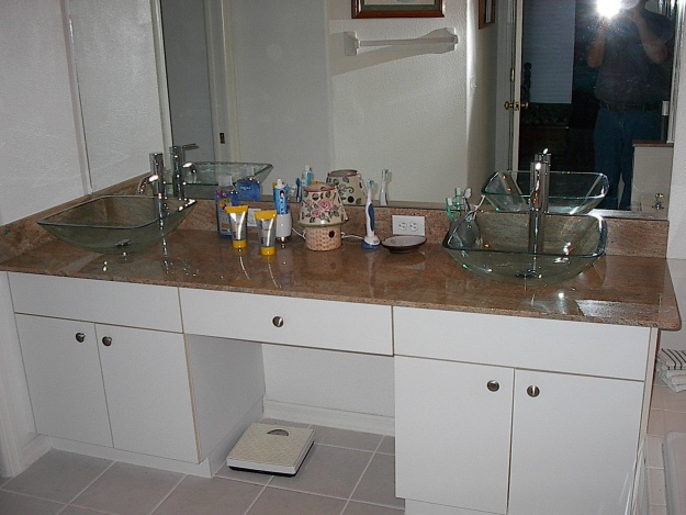Vessel Sink Fits Loose On Counter Top Sink 003