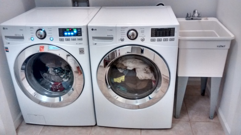 Draining Laundry Sink Into Washer Stack With Trap In Slab Final Jpg