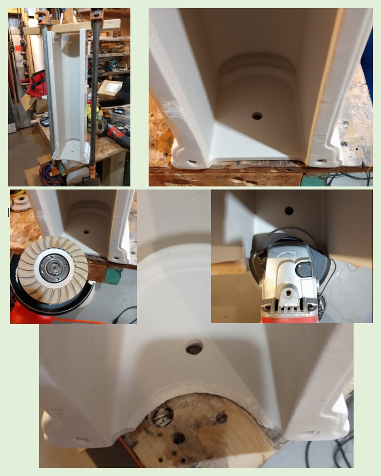 Modifying a Ceramic Sink Pedestal...-sink-pedestal-modification.jpg