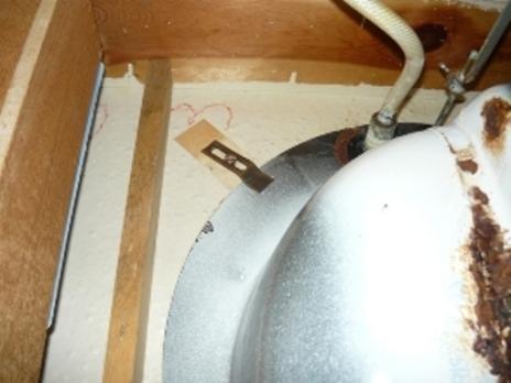 Undermount Bathroom Sink Clips advice on replacing rusted bath undermount style sink - plumbing