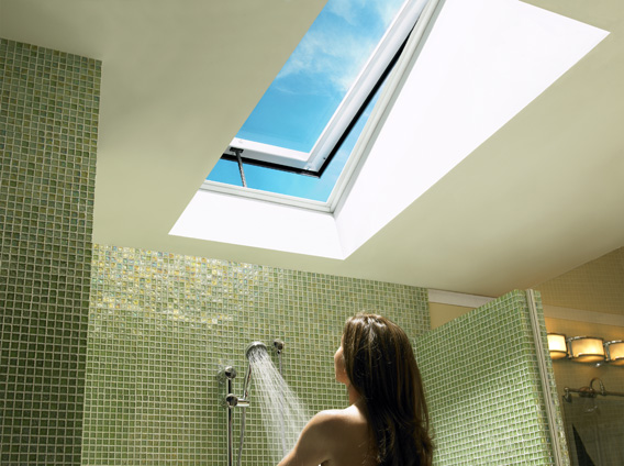 how to open skylight window
