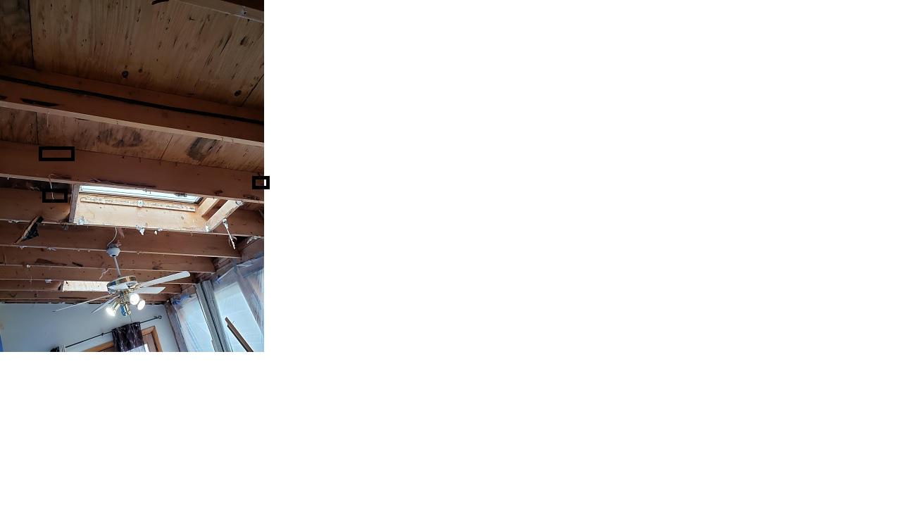 Insulation on no attic roof.-skylight.jpg
